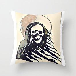 Reaper Creepin' Throw Pillow