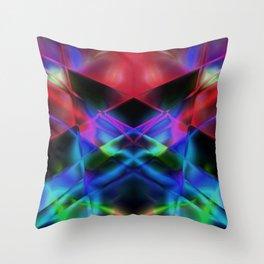 Geometric abstract design Throw Pillow
