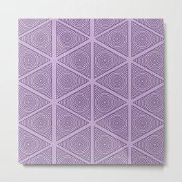 Classic Pattern No. 206 Metal Print