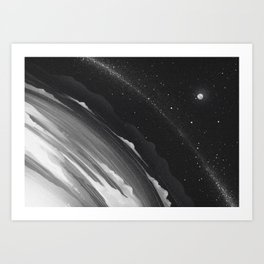Planets lost in the vast of Space: 06 Art Print