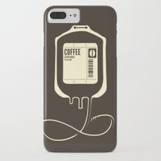 Coffee Transfusion iPhone 8 Plus Slim Case