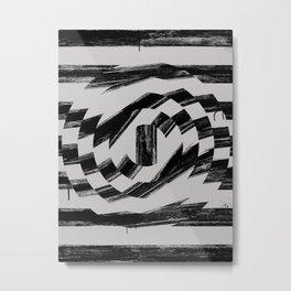 Distorted B.G Metal Print