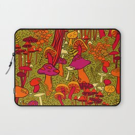 Mushrooms in the Forest Laptop Sleeve
