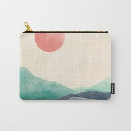 Rolling Verdant Hills Carry-All Pouch