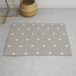Here Kitty Kitty {grey} Rug