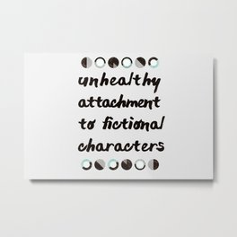 Fictional Characters Metal Print
