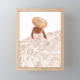 Madame Fleur Framed Mini Art Print