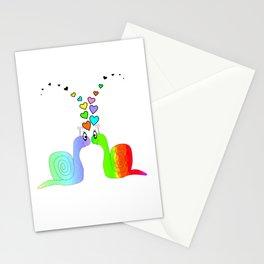Snail Love Stationery Cards