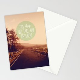 This Road Will Take You Anywhere Stationery Cards