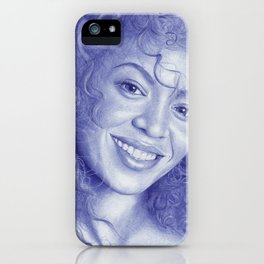 Knowles-Carter iPhone Case