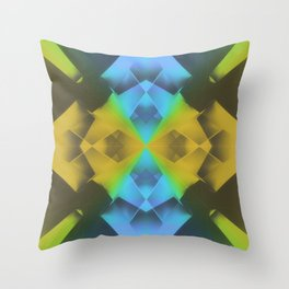 Crystal Prism Delay Throw Pillow
