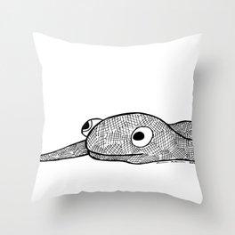 Snakey Throw Pillow