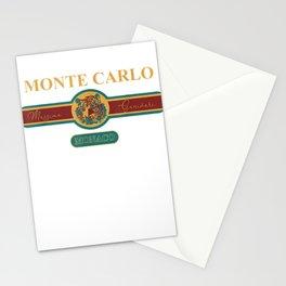 Fashion Monte Carlo Monaco T-Shirt Vacation Souvenir Tee Stationery Cards