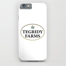 Tegridy Farms Logo iPhone Case