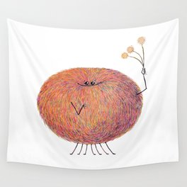 Poofy Streusel Wall Tapestry