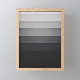 greydown Framed Mini Art Print