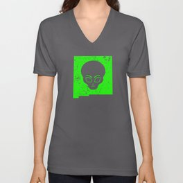 UFO Roswell Alien New Mexico Guide Extraterrestrials Shirt Unisex V-Neck
