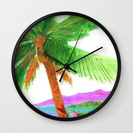 Island Breeze Wall Clock