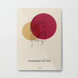 Transmutation Metal Print