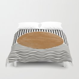 Abstract Modern Poster Duvet Cover