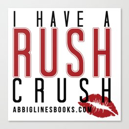 Rush Crush Canvas Print