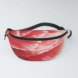 Red Carnation Fanny Pack