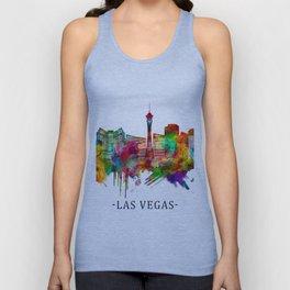 Las Vegas Nevada Skyline Unisex Tank Top