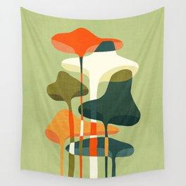 Little mushroom Wall Tapestry