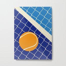 Matchball Metal Print