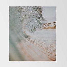 summer waves xiii Throw Blanket
