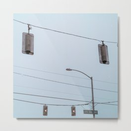 Crossroads I Metal Print