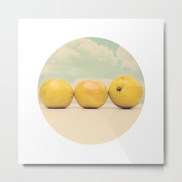 Its always Sunny at Breakfast time Metal Print
