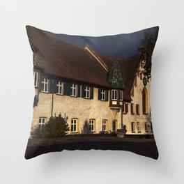 Monastrey of Blaubeueren Throw Pillow