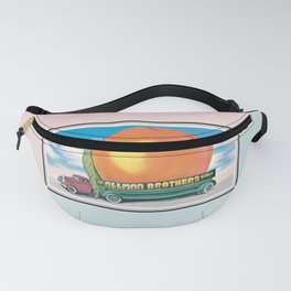 Eat a Peach by The Allman Brothers Band Fanny Pack