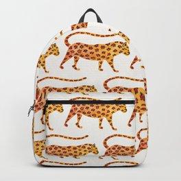 Jaguar Pattern Backpack