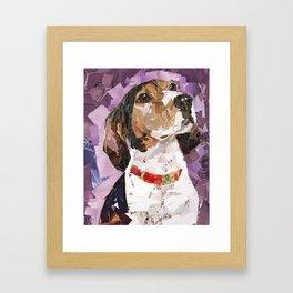 Delilah The Treeing Walker Coonhound Framed Art Print