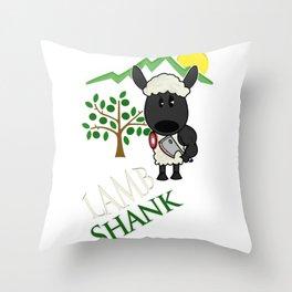 Lamb Shank Throw Pillow