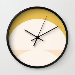 Abstract Geometric 01 Wall Clock