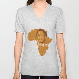 Kendrick Lamar Compton Africa Unisex V-Neck