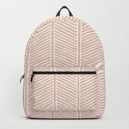 Organic Chevron in Rose Backpack
