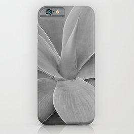 Gray Blush Agave Romance #1 #tropical #decor #art #society6 iPhone Case