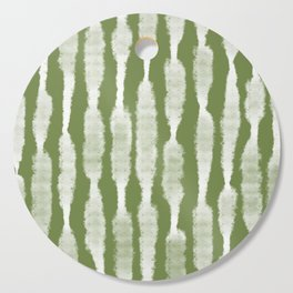 Tie Dye no. 2 in Green  Cutting Board