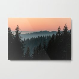 PNW Sunset Metal Print
