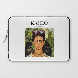 Kahlo - Self-portrait Laptop Sleeve