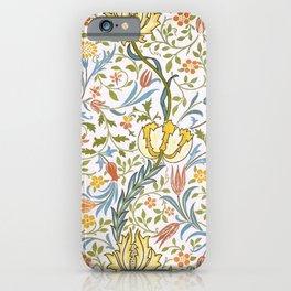 William Morris Flora iPhone Case