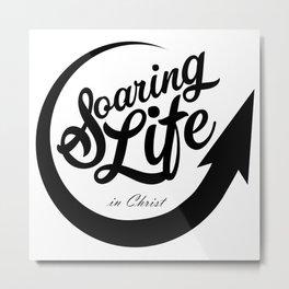 Soaring Life in Christ Metal Print