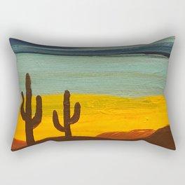 Saguaro Sunset Rectangular Pillow