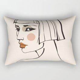 Exibition poster-Les Peintres Témoins de leur temps-1955. Rectangular Pillow