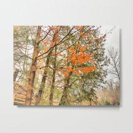 Ephemeral Autumn Metal Print