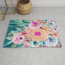 SMELLS LIKE FEMME RECLAMATION Floral Rug